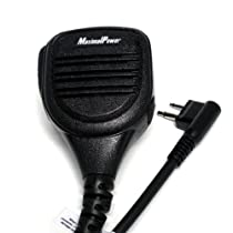 MaximalPower RM MOT HMN9030 Palm Speaker Mic for Motorola HMN9030 Fits Motorola GP300 Two Way Radio Palm Speakers