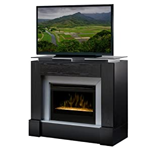 Jasper 48 Tv Stand With Electric Fireplace Insert Style Glass Ember Electric Stoves