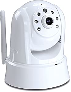 TRENDnet HD Wireless Day, Night PTZ Cloud Camera, TV-IP862IC (White)