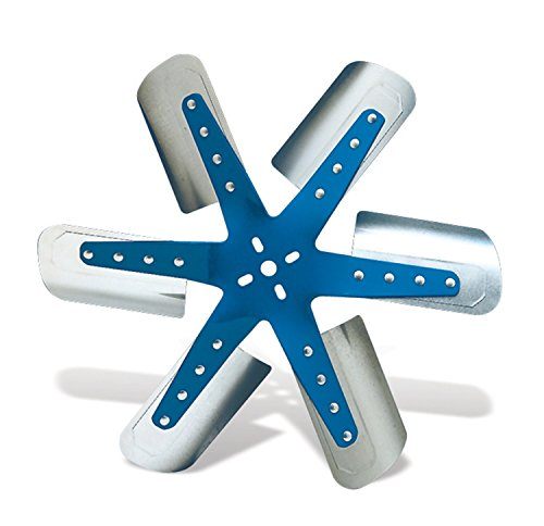 Flex-a-lite 1319 Blue Star Stainless Steel 6-Blade 19-3/8