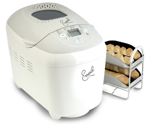 Emeril by T-fal OW5005001 3-Pound Automatic Bread Machine - Baguette and Br