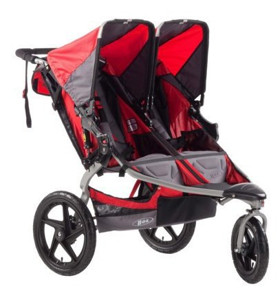 BOB Stroller Strides Fitness Duallie Stroller - Red