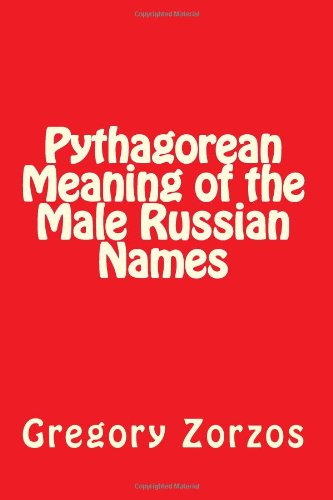 Pythagorean Meaning of the Male Russian Names PDF