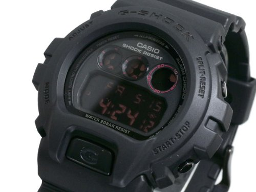 Casio CASIO G shock g-shock watch matte black red eye DW 6900MS-1 [parallel import goods]