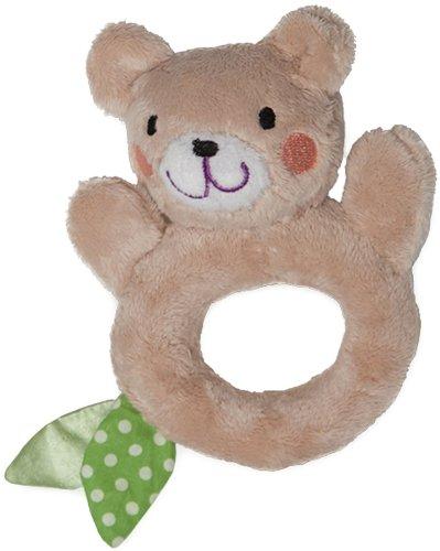 Boppy Gentle Forest Rattle Ring Bo Bear front-846401