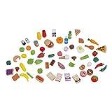 Kidkraft Mini Tasty Treats Play Food Set 65 Piece Assortment