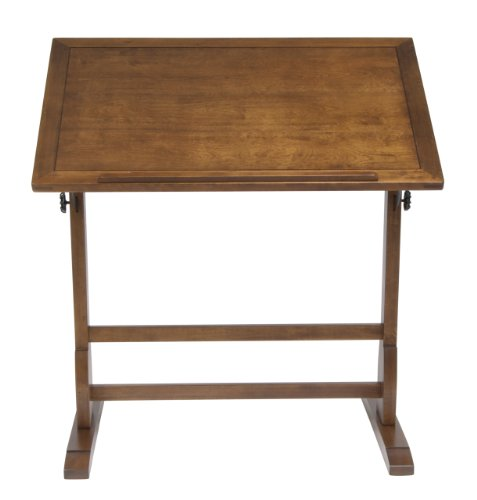 NEW Vintage Drafting Table Oak Wood Art Crafts Architects Design