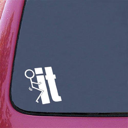 41d4CmCj4YL. SL500  F**K IT FUNNY JDM 5.5 WHITE Vinyl Decal Window Sticker for Laptop, Ipad, Window, Wall, Car, Truck, Motorcycle
