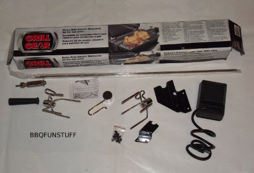 Fiesta Kenmore Gas Grill Deluxe Solid Spit 28.5 - 32