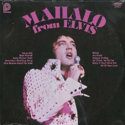 Elvis Presley - Mahalo From Elvis - Zortam Music