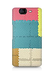 Amez designer printed 3d premium high quality back case cover forMicromax Canvas Knight A350 (pattern copy)