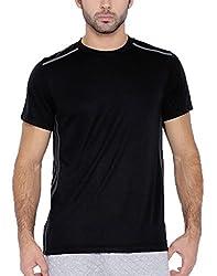 Romano Men's Multi-Coloured Swimwear Lycra T-Shirt