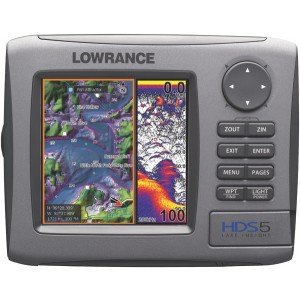 New Lowrance 000-0140-19 Hds5 Lake Insight 83/200 Khz Fishfinder High-Speed Secure Digital Card Slot