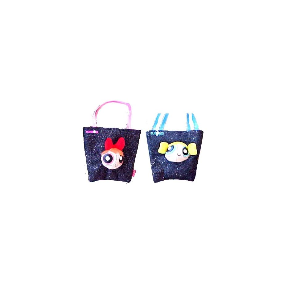 3217017d422 2pcs Powerpuff Girls tote Bag Handbag Purse Blossom & Bubbles Bag on ...