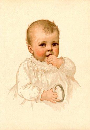 Boy No. 2, By Ida Waugh, 24X36 Paper Giclée front-887329
