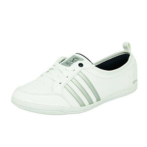 adidas Neo PIONA SELENA GOMEZ Scarpe Moda Sneakers Ballerina Bianco per Donna