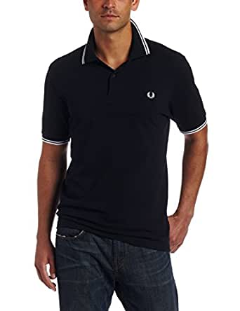 FRED PERRY - Sweater - Polo bleu marine Fred Perry - 1 - XS - Bleu