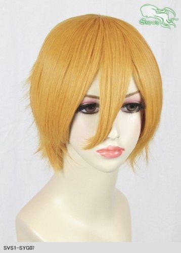 スキップウィッグ 魅せる シャープ 小顔に特化したコスプレアレンジウィッグ マニッシュショート マスタード