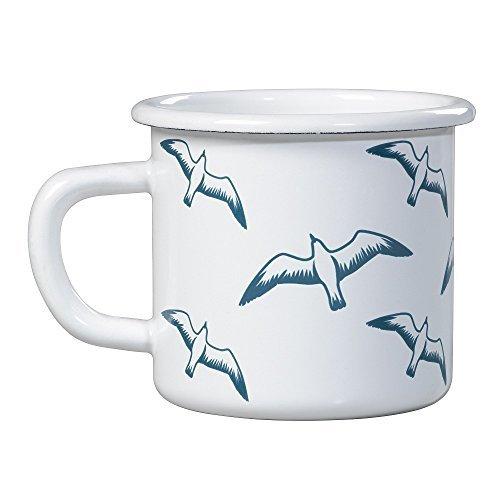 Whitby Enamel Mug Seagulls by WFS