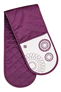Premier Housewares Lilla Double Oven Glove - Purpe