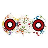 #7: Thessentials Fidget spinner white colour with free glow in dark wrist band stress reducer with two sided premium metal bearing