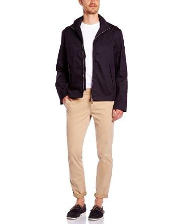 Timberland Clothing Waterproof Stratham Bomber Men's Jacket Dark Navy Large