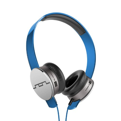 Sol Republic 1241-06 Tracks Hd On-Ear Interchangeable Headphones With 3-Button Mic And Music Control - Blue