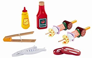 Hape - My Backyard Bbq Fix'Ins Starter Set