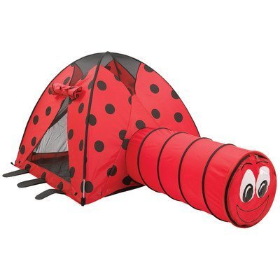Lady Bug Tent and Tunnel Combo by Pacific Play Tents