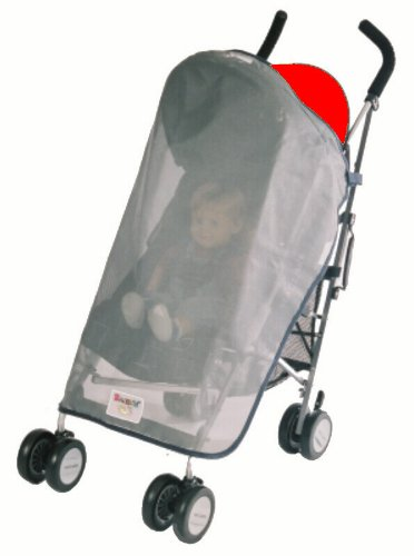 Sashas Sun, Wind and Insect Cover for Maclaren Triumph and Quest Sport Single Stroller Model