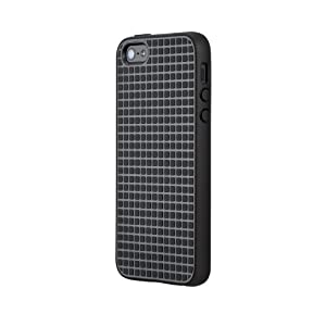 Speck Products PixelSkin HD Rubberized Case for iPhone 5/5s - Retail Packaging - Black