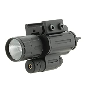 UTG P28 Red Laser Xenon Flashlight Combo