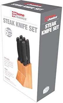 6-Piece Knife Set with Block