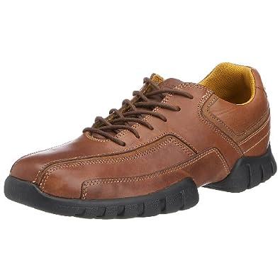 Rockport APM74848 - Zapatos de cordones de cuero para hombre, color marrón, talla 40.5