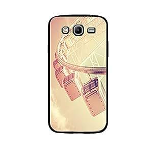 Vibhar printed case back cover for Samsung Galaxy Mega 5.8 LondonEye