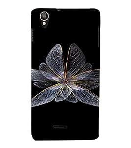 PrintVisa Butterfly Design 3D Hard Polycarbonate Designer Back Case Cover for LAVA IRISX800 :: LAVA-IRIS-800