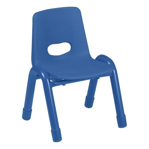 Deals Stackable Preschool Chair 13 Seat Height Set Of 4 Blue Th