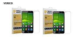 (Pack of 2) Verico Luxurious Tempered Glass Screen Protector for Swipe Elite Plus Smartphone