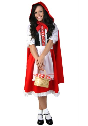 Adult Little Red Riding Hood Costume Large