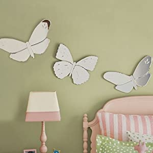 Amazon Com Pottery Barn Kids Butterfly Mirrors Wall