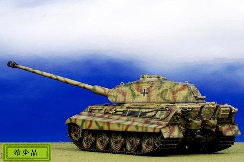 1:35 ドラゴン モデル 1:35 Armor 61018 Henschel/Porsche Sd.Kfz.182 King Tiger ディスプレイ モデル German Army sPzAbt