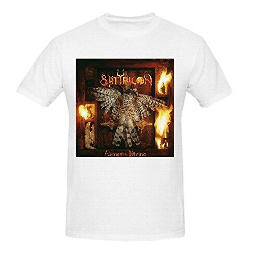 Satyricon Nemesis Divina Tee Shirts Uomos X-Large