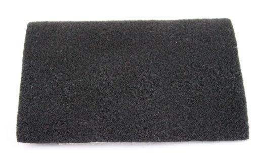 Xscorpion Ac4.15Blk 40-Inch X 15-Feet Piece Of Premium Un-Backed Automotive Trim Carpet