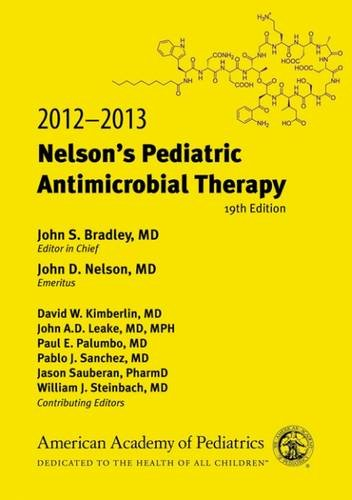 Nelson's Pediatric Antimicrobial Therapy,