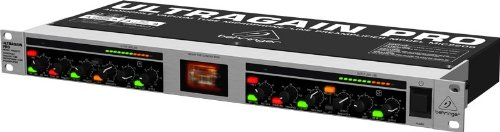 Behringer Tube Ultragain Pro Mic2200 Audiophile Microphone Tube Preamplifier - 2 Channel