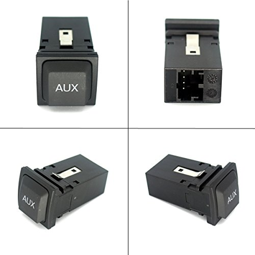 AutoStyle AUX Switch Adapter Button RCD510 RNS315 Adapter For Volkswagen VW Golf 6 Golf MK6 New
