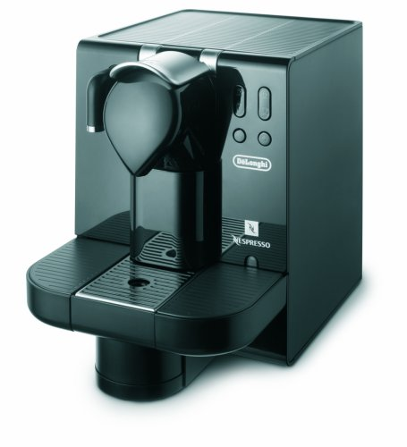 DeLonghi EN670.B Nespresso Lattissima Single-Serve Espresso Maker (Black)