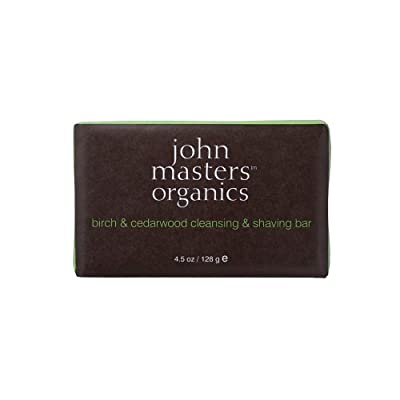Best Cheap Deal for John Master Organics Cleansing/Shaving Bar, Birch/Cedarwood, 4.5 Ounce by Buy Smart LLC - Free 2 Day Shipping Available