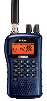 Uniden BC-95XLT NASCAR Bearcat 200-Channel Portable Scanner