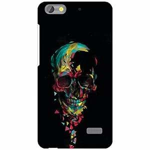 Design Worlds Honor 4C Back Cover - Skull Designer Case and Covers